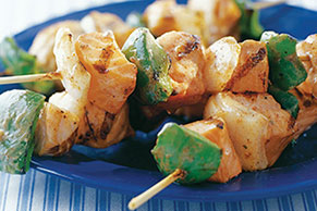 Spicy Grilled Salmon Kabobs