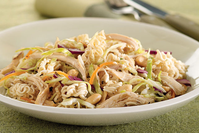 Chicken-Cabbage Noodle Salad