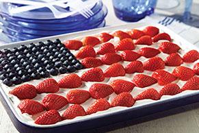 JELL-O® Easy Patriotic Flag Dessert Image 1