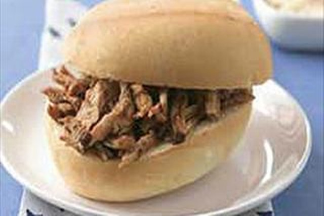 Barbecue Pork Sandwiches Image 1