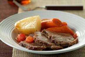 Braised Rump Roast and Vegetables
