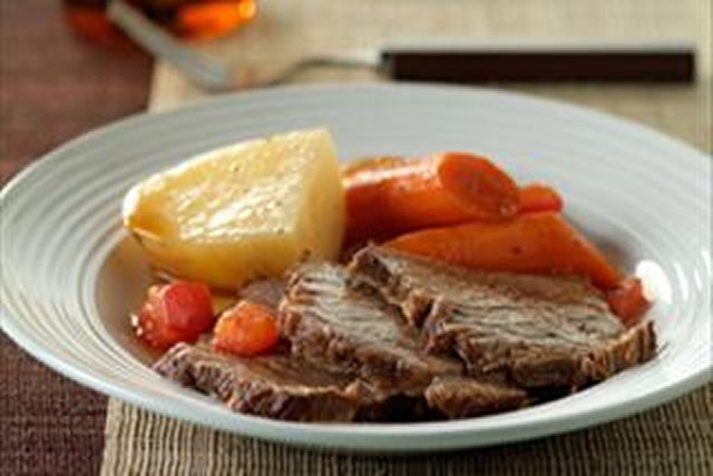 Braised Rump Roast and Vegetables Image 1