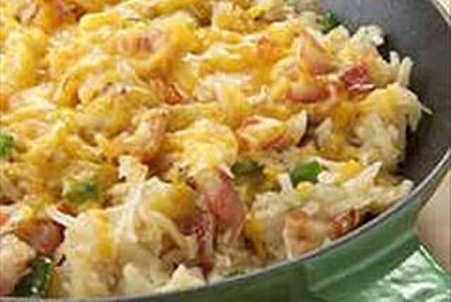 Cheesy Hash Browns Image 1