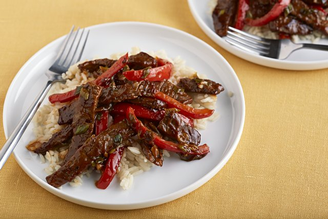 Barbecue Beef & Rice Image 1