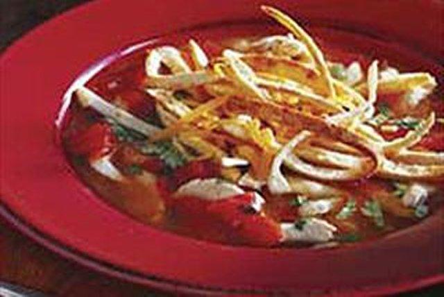 Sopa de tortilla y pollo Image 1