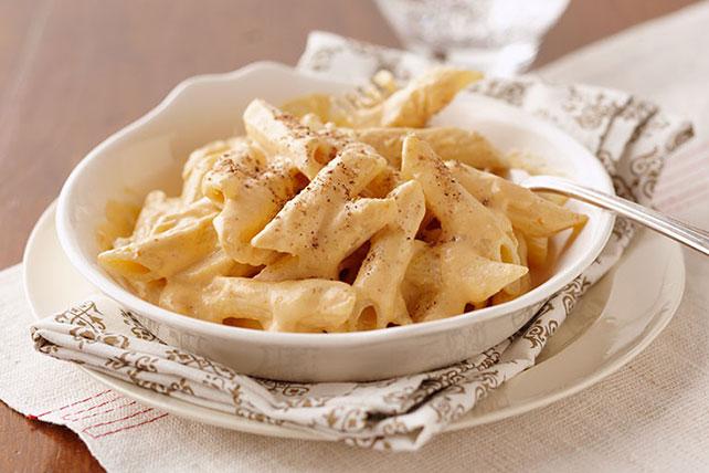 Pasta con crema de calabaza Image 1