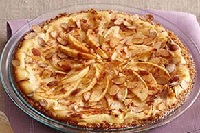 Fall Apple Bavarian Cheesecake