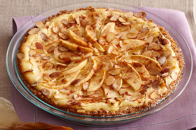 fall apple bavarian cheesecake kraft recipes. Black Bedroom Furniture Sets. Home Design Ideas