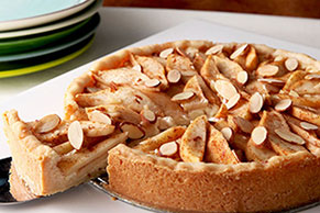 Almond-Pear Cream Cheese Torte