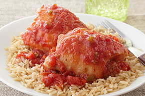 Slow-Cooker Chicken 'Osso Buco'