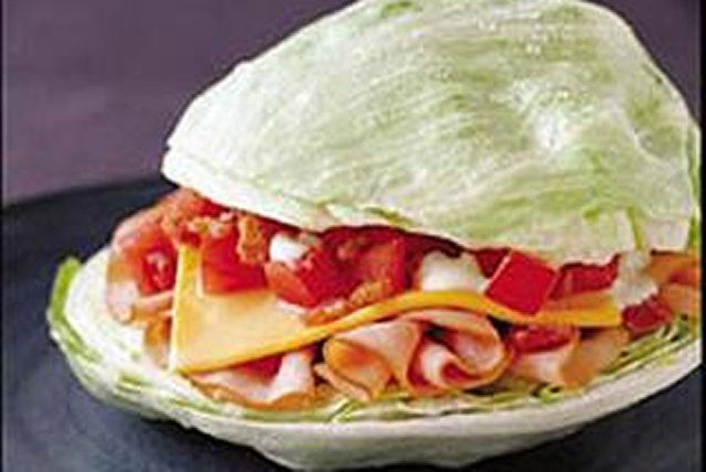 Breadless Turkey BLT Image 1