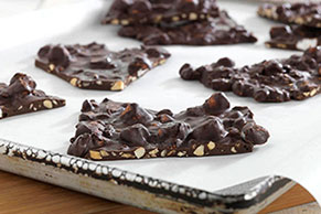 BAKER'S ONE BOWL Rocky Road Chocolate Bark