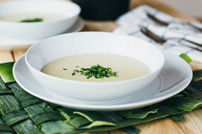 Chive & Onion Potato Leek Soup