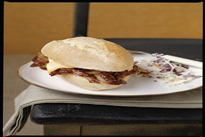 Slow-Cooker Hickory BBQ Pork Sandwiches