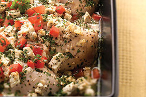 Feta Chicken Bake