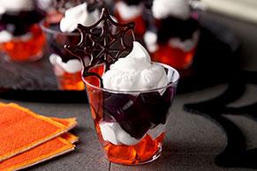 Happy Halloween Dessert Cups