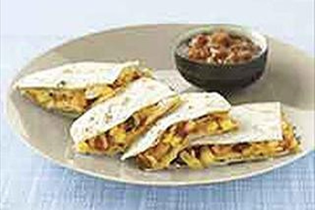 Chicken & Corn Quesadillas Image 1