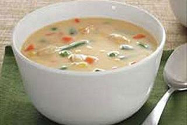 Cheddar Chicken Soup Image 1