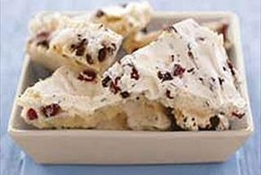 Chocolate Cranberry Meringue