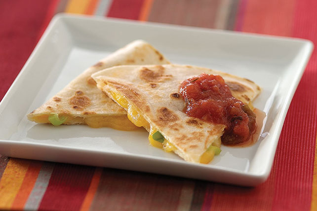 Cheesy Quesadillas Image 1