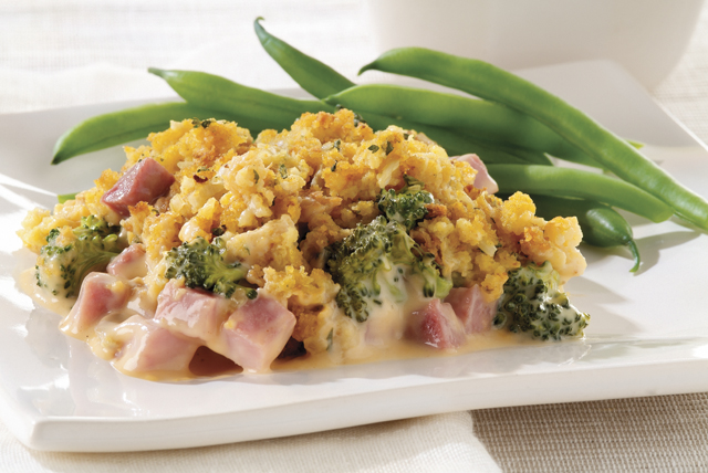 Cheesy Ham & Broccoli Bake Image 1