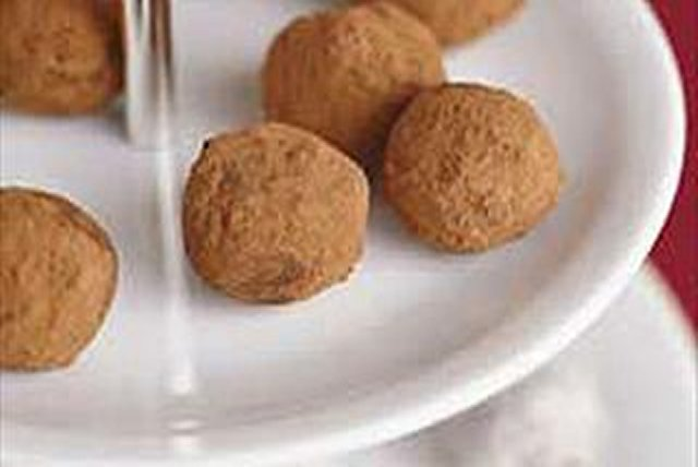 Chocolate Cream Truffles Image 1