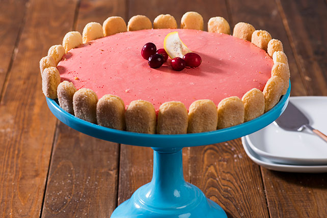 Berry Citrus Mousse Cake Image 1