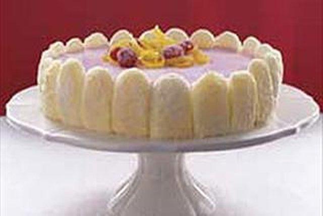 Berry Citrus Mousse Cake Image 1