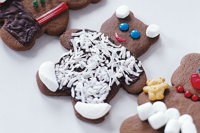 Chocolate Holiday Bears Image 1