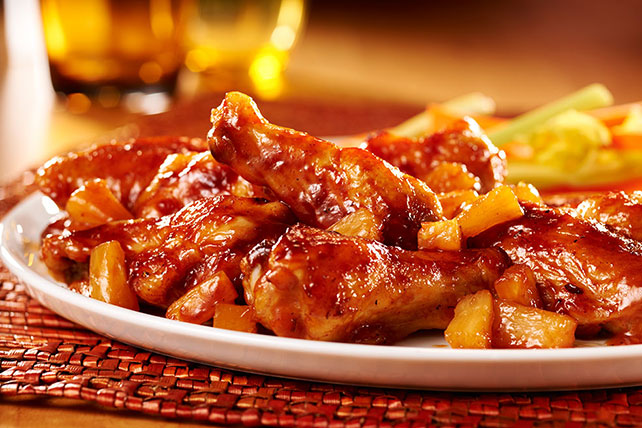 Pineapple Chicken Wings Image 1