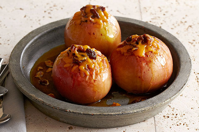 Baked Cinnamon Apples for Two