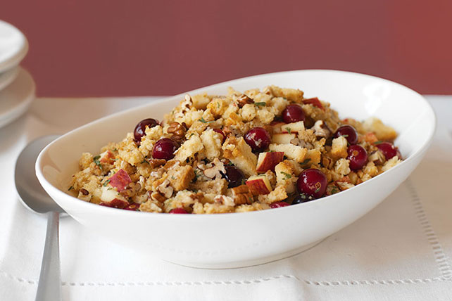 Apple, Cranberry & Pecan Stuffing Image 1