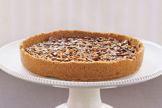 Caramel Nut Tart - Kraft Recipes