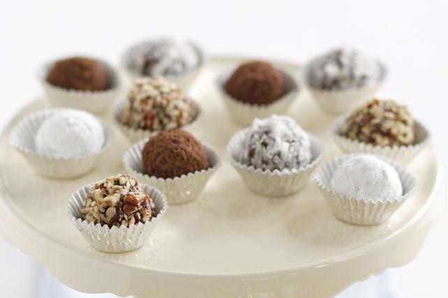 Trufas de chocolate y mantequilla de maní (cacahuate) Image 1