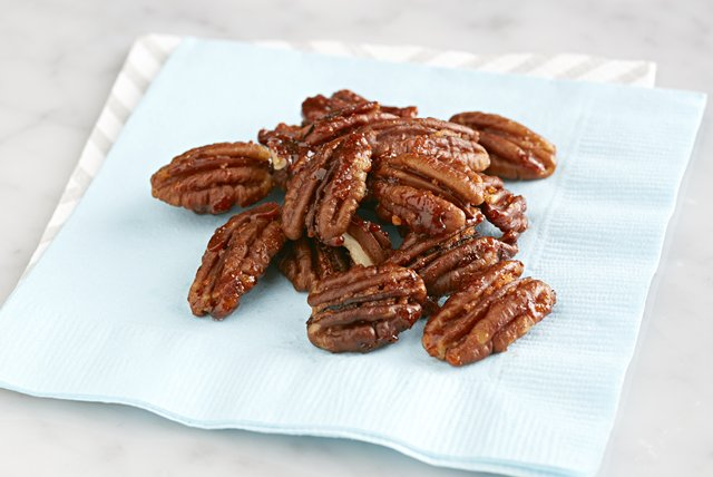 Fruity-Spiced Glazed Nuts Image 1