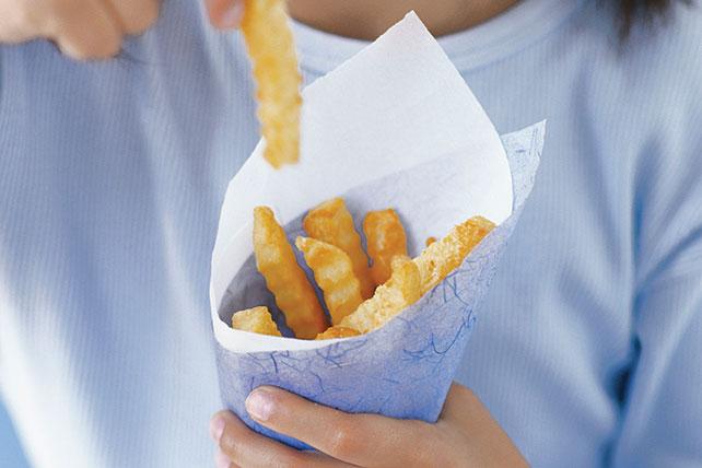 Divertidas papas con queso Image 1