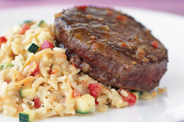 Beef Tenderloin with Creamy Risotto Image 1