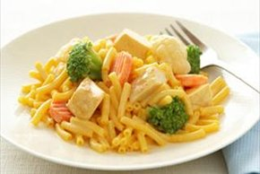 Chicken & Veggie Mac