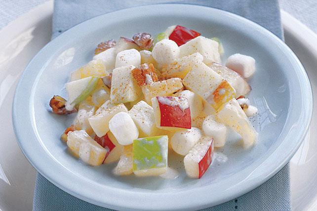 Ensalada navideña de manzana Image 1