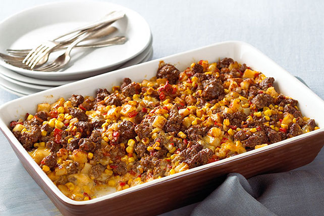 VELVEETA® Tex-Mex Beef and Potatoes Image 1