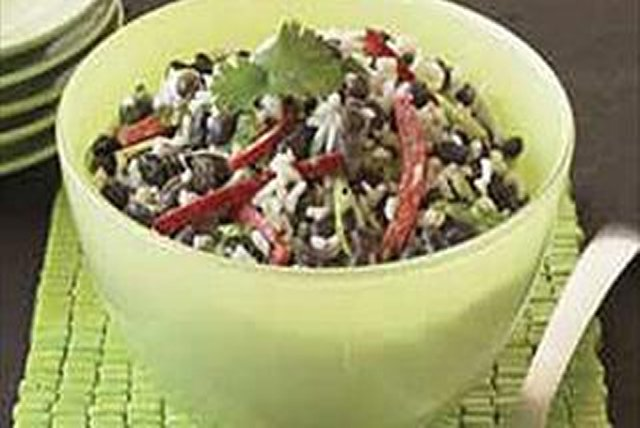 Black Bean and Rice Salad Image 1