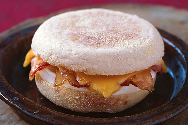 Quicker-than-Fast Food Egg Sandwich Image 1