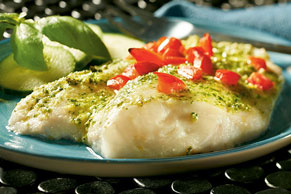 Creamy Pesto Fish