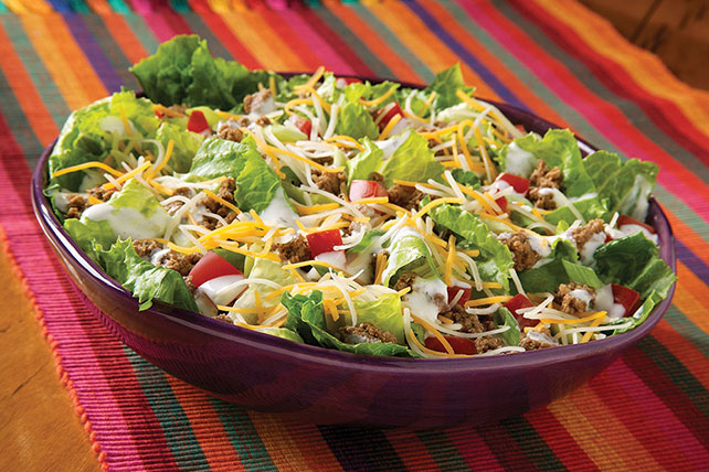 Six-Layer Taco Salad Image 1
