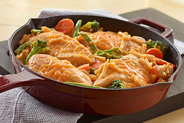 Extra-Cheesy Chicken and Noodles Image 1