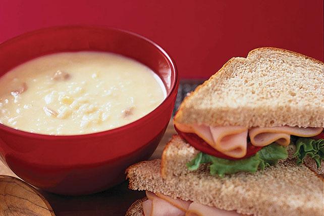 Classic Turkey Sandwich Image 1