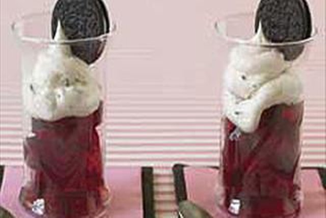 Cherry-Chocolate Cream Parfaits Image 1