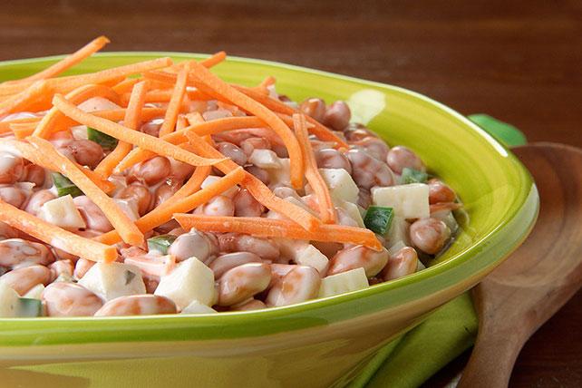 Ensalada de pimientos, frijoles y cilantro Image 1