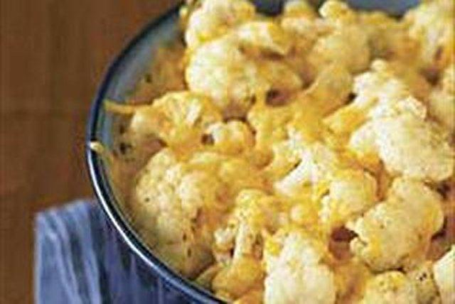 Horneado de coliflor con queso Image 1