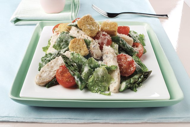 Springtime Chicken Caesar Salad Image 1